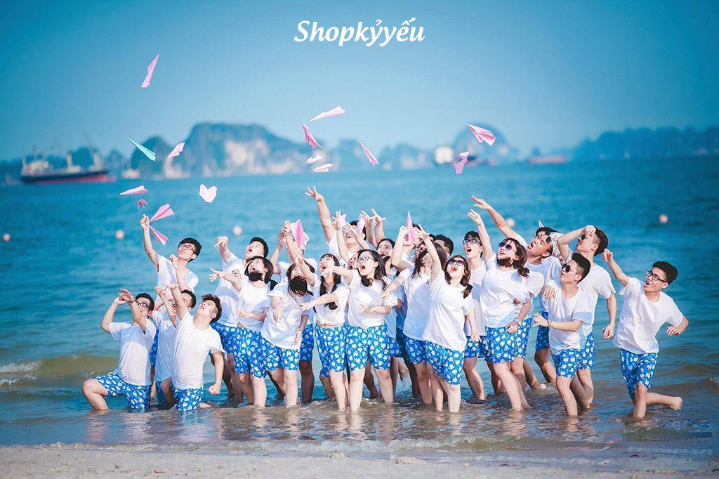 Bán quần nhóm đi biển rẻ, đẹp, cực chất hè 2017 - Shopkyyeu