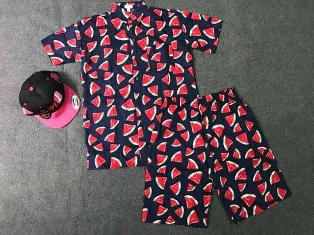 quần áo hoa quả