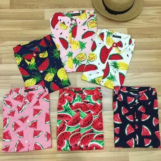 áo hoa quả