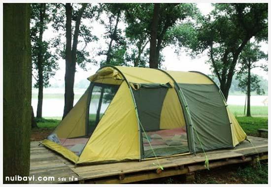 lều trại tại Sơn Tinh Camp
