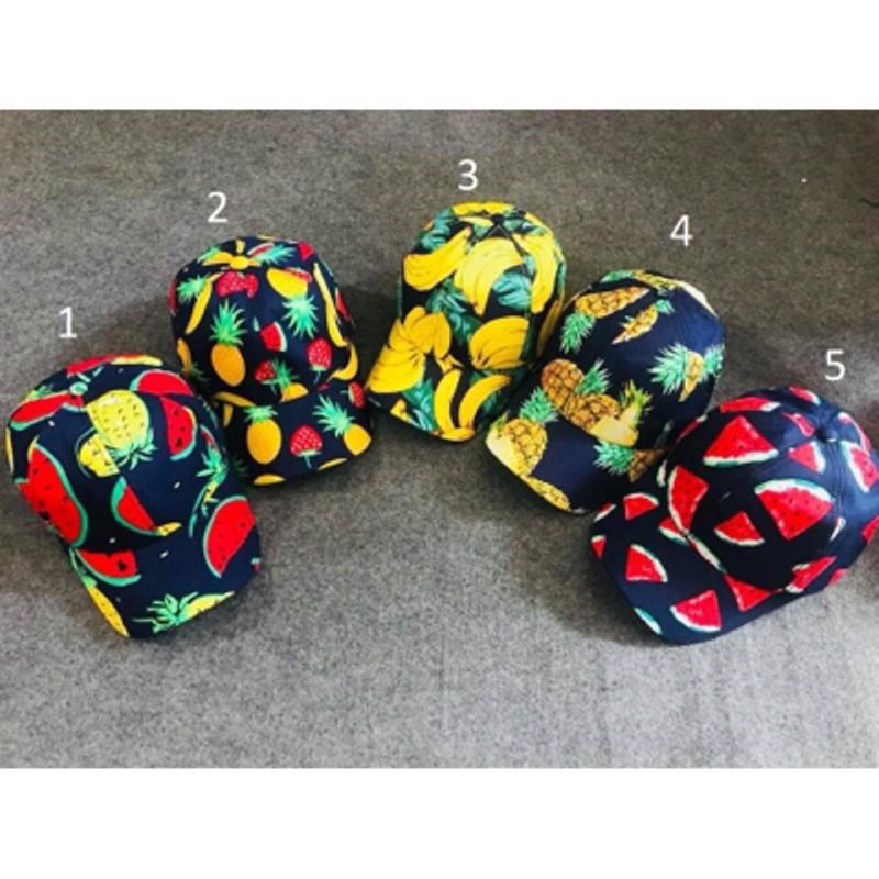 mũ hoa quả